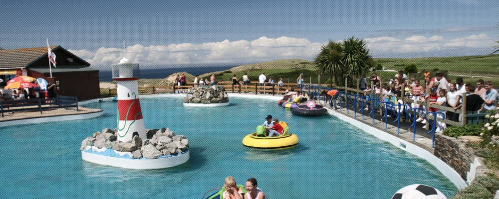 Holywell Bay - Water pool