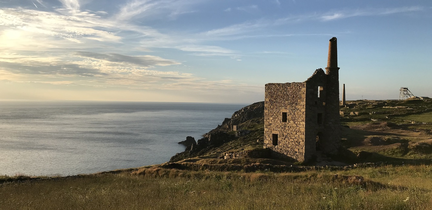 Wheal Owles Mine at Sunset